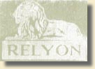 The Relyon logo used by English Clock Systems Ltd and its predecessor, Synchro Time Systems Ltd